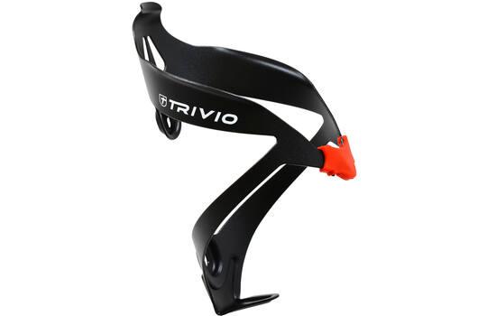 Bidonhouder Zwart / Rood Alu Light - Trivio