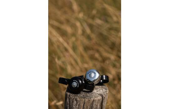 BICYCLE BELL MINI SILVER 1