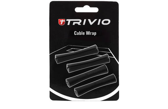 CABLEWRAP SET BLACK - 4 PC.