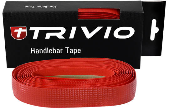 HANDLEBAR TAPE CARBON RED