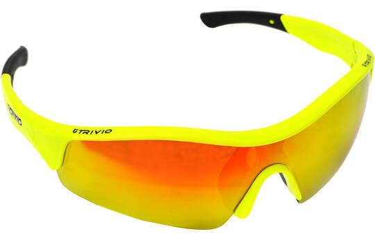Bril Vento Fluo Yellow Met 2 Extra Lenzen - Trivio