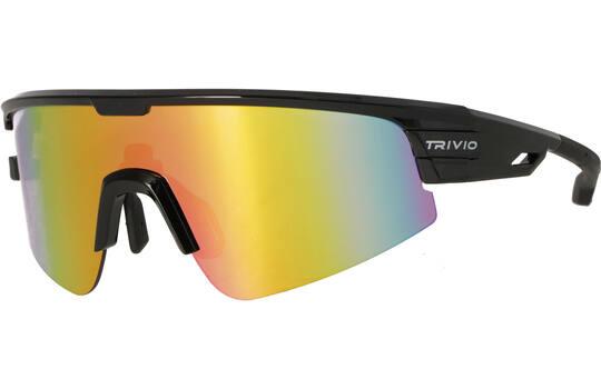 Bril Octo Zwart Revo Pink + Innerframe - Trivio