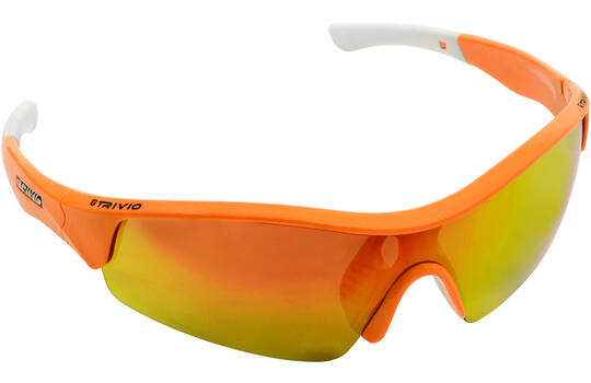 GLASSES VENTO FLUO ORANGE WITH 2 EXTRA LENSES 1