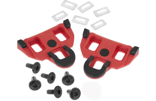 CLEATS GRIP SHIMANO SPD-SL COMPATIBLE 4.5° RED