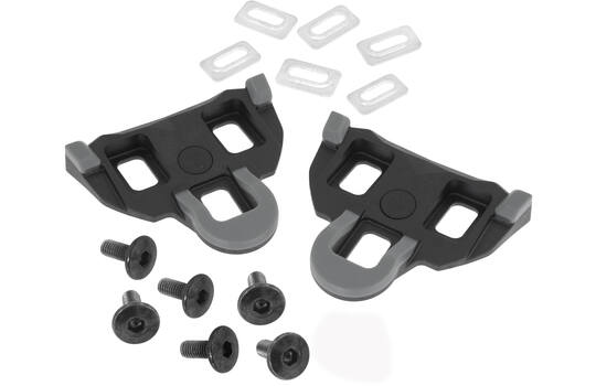 CLEATS GRIP SHIMANO SPD-SL COMPATIBLE 0° BLACK