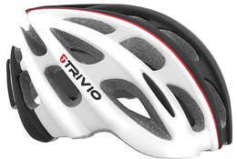 HELM CIRRUS WHITE/BLACK/RED 51-54CM