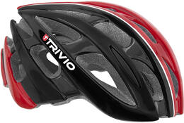 HELM CIRRUS BLACK/RED/WHITE 58-61CM