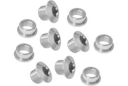 CHAINRING BOLT SET RACE 9.9X4.05